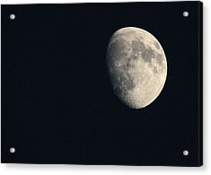Acrylic Print featuring the photograph Lunar Surface by Angela Rath
