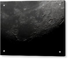 Lunarscape Acrylic Print by Traves Wood