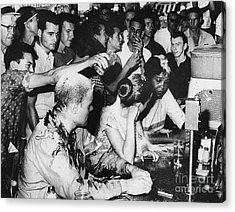 Lunch Counter Sit-in, 1963 Acrylic Print