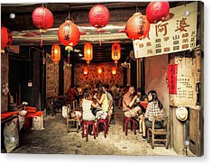 Acrylic Print featuring the photograph Lunch by Geoffrey Lewis