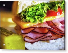 Lunch Is Served Acrylic Print