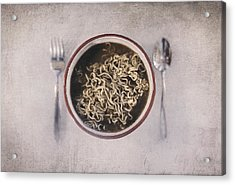 Lunch Acrylic Print by Scott Norris
