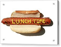 Lunch Time Acrylic Print by Michael Ledray