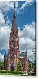 Acrylic Print featuring the photograph Lund All Saints Church by Antony McAulay