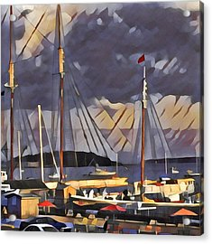 Lunenberg Acrylic Print