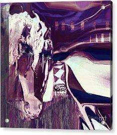 Lungta Windhorse No 5 Acrylic Print