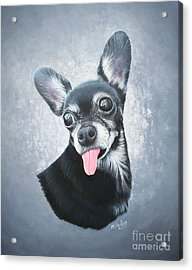 Lupe Acrylic Print by Mike Ivey