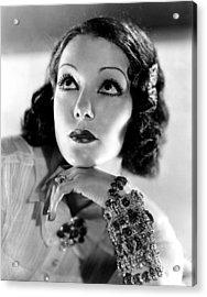 Lupe Velez, Mgm, 1933, Photo Acrylic Print