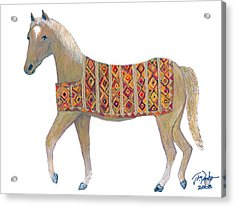 Luri Pony Acrylic Print