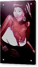 Luscious Lori Acrylic Print