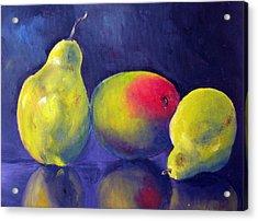 Luscious Trio Acrylic Print