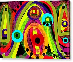 Lush For Life Acrylic Print