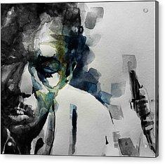 Lush Life  John Coltrane  Acrylic Print