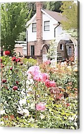 Luther Burbank Home And Gardens Acrylic Print