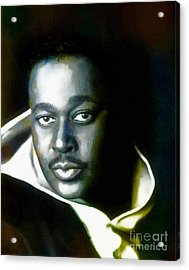 Luther Vandross - Singer  Acrylic Print