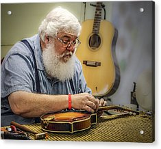 Luthier Acrylic Print