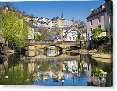Luxembourg City Acrylic Print by JR Photography