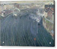 Luxembourg Station Acrylic Print by Henri Ottmann
