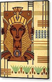 Luxor Deluxe Acrylic Print by Tara Hutton