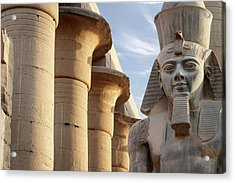 Acrylic Print featuring the photograph Luxor by Silvia Bruno
