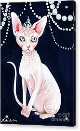 Luxurious Sphynx Acrylic Print