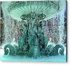 Lv Fountain Acrylic Print