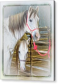 Lvha_ Digital Art Painting #1 Acrylic Print