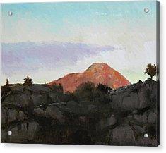 Lyderhorn II Acrylic Print by Arild Amland