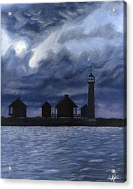 Lydia Ann Lighthouse Acrylic Print