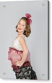 Lydia In Wraps Acrylic Print