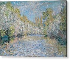 L'yerres Pres De Montgeron Acrylic Print by Claude Monet