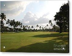 Lyford Cay Golf Club The Bahamas Acrylic Print