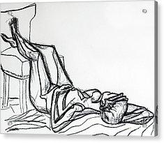 Lying In Wait 1 Acrylic Print by Robert Yaeger