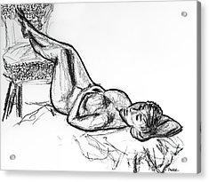 Lying In Wait 2 Acrylic Print by Robert Yaeger