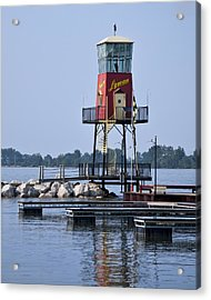 Lyman Harbor Lighthouse Acrylic Print