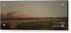Lynn Meadows, 1863 Acrylic Print by Martin Johnson Heade