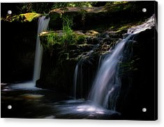Lynn Mill Waterfalls Acrylic Print