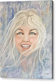 Lynnportrait Of A Young Woman  Acrylic Print