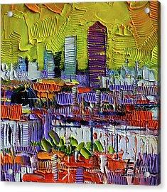 Lyon At Sunrise Acrylic Print