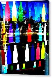 Lyon Coke Wall Funk  Acrylic Print by Funkpix Photo Hunter