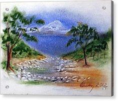 Lytle Creek Acrylic Print
