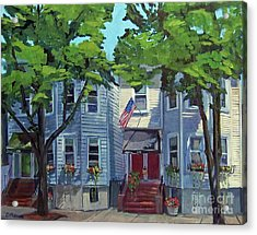 M St Afternoon Acrylic Print