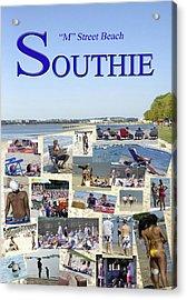 M Street Beach  Southie Acrylic Print