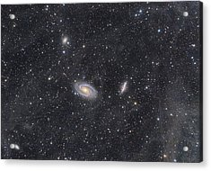M81 And M82 Widefield Acrylic Print
