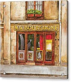 Ma Bourgogne Acrylic Print