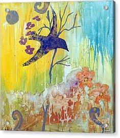 Ma Doh Bird Soars Acrylic Print