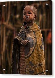 Maasai Boy Acrylic Print