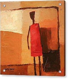Maasai Acrylic Print by Lutz Baar