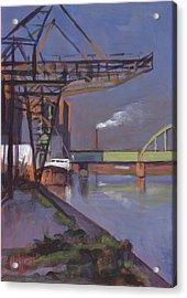 Maastricht Industry Acrylic Print