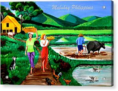 Mabuhay Philippines Acrylic Print